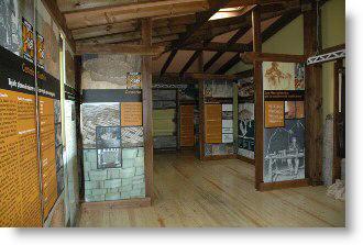 Interior del Museo de la Madera de Caso